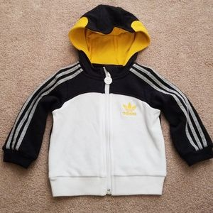 Adidas hoodie size 9 months.